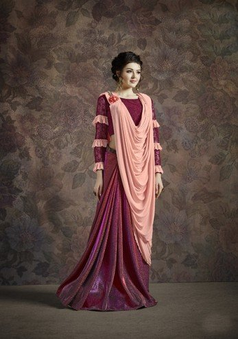 Designer Party Wear Fancy Imported Saree