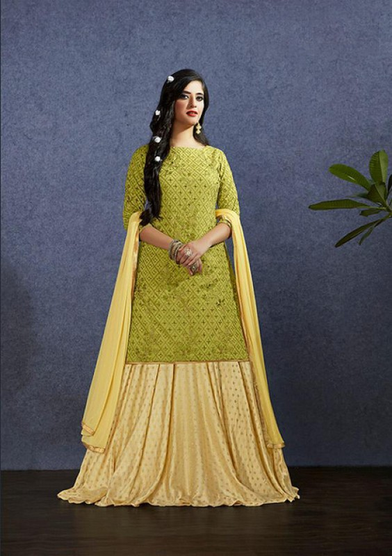 Designer Party Wear Lehenga Suit